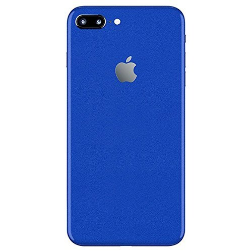 GADGETS WRAP Apple iPhone 7 Plus Blue Satin Skin for Back Only -CO- C6B05