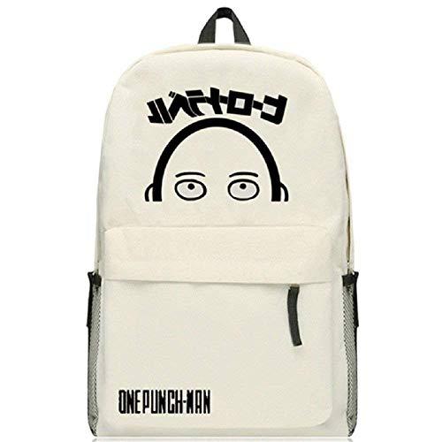 YHEGV Anime One-Punch Man Cosplay Schultasche Daypack College Bag Rucksack Schultasche