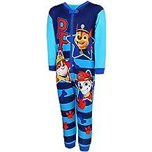 9c8a13b3f2 Nickelodeon Paw Patrol Jungen Schlafanzug Overall Onesie Einteiler