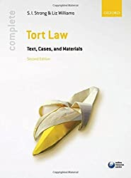 Complete Tort Law: Text, Cases, & Materials by S.I. Strong (2011-03-17)