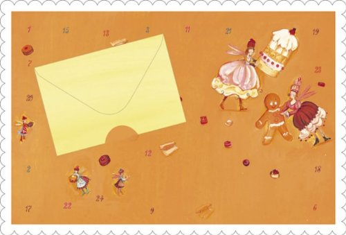 Advent Calendar Christmas Card Christmas