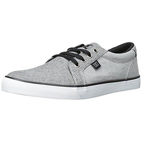 DC Men's Council TX SE Skate Shoe, Grey/Charcoal, 11 D US
