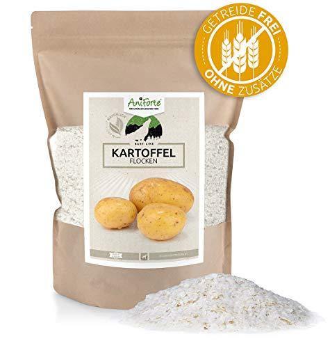 Aniforte, B.A.R.F., Integratore alimentare per caneLine, Fiocchi di patate, 1kg, per diversetaglie, 100{f7489bf886289f7f0f281b3881525cf8a49ab058072f10d824fc4f70fa55c0f3} prodotto naturale per cani