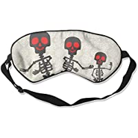 Skull Skeleton Dance 99% Eyeshade Blinders Sleeping Eye Patch Eye Mask Blindfold For Travel Insomnia Meditation preisvergleich bei billige-tabletten.eu