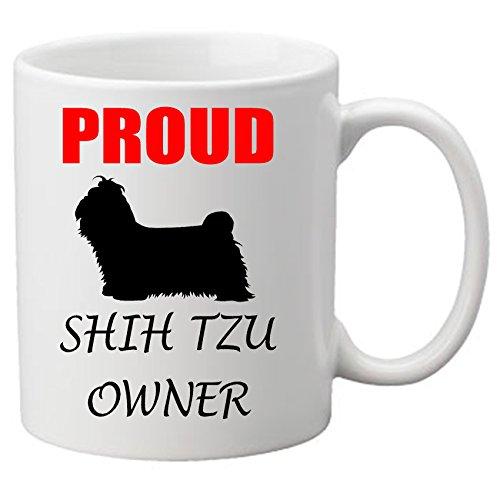 """Proud Shih Tzu Eigentümer Becher, Motiv """"Hund ein tolles Lover. Becher."""