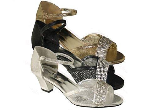 Ubershoes - Strap alla caviglia donna Black
