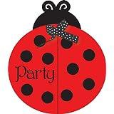 Creative convertir Coccinelle Fancy invitation anniversaire, 8 Count jouet enfant/jeu/Play Kid/enfants