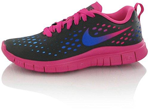 Nike Free Run Express Black Multi Kids Trainers Size 37.5 EU (Schuhe Nike Free Black Kids)