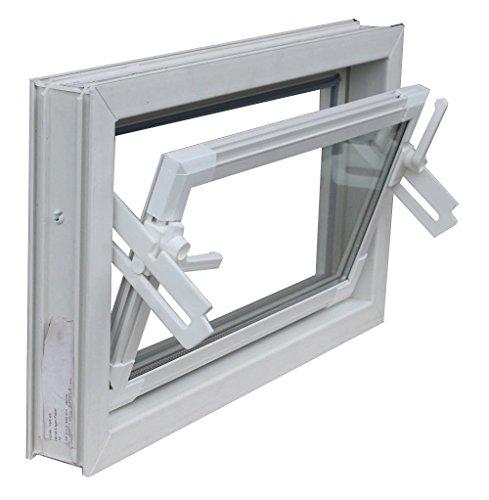 Kellerfenster weiss 60 x 30 cm Isolierverglasung 3.3