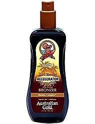 Australian Gold Dark Tanning Accelerator Spray Gel avec Agent Bronzant 237 ml