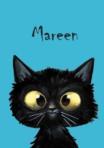 Mareen: Mareen - Katzen - Malbuch / Notizbuch / Tagebuch: A5 - blanko