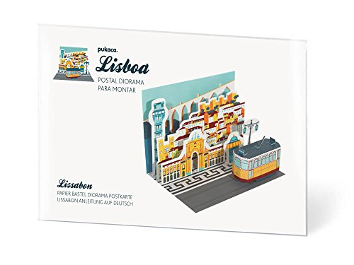 Lissabon Diorama Postkarten