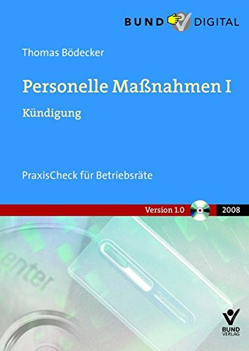 Personelle Maßnahmen l /Kündigung CD-ROM