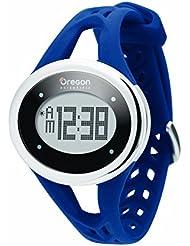 OREGON SE336M Herzfrequenzmesser mit Touch Screen Technologie und Brustgurt mit Doppel Modus 'Analog Digital–Wecker und Uhr–Hintergrundbeleuchtung