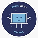 BeliNZStore Works on My Machine - Adesivi per Programmazione (3 Pezzi/Confezione)