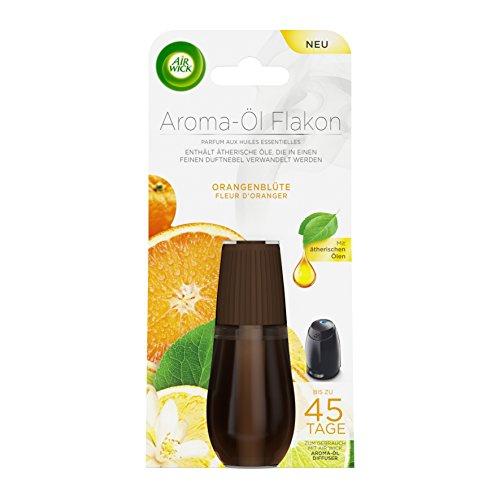 Air Wick Aroma-Öl Flakon Orangenblüte, Nachfüller für Aroma-Öl Diffuser, 1er Pack (1 x 20 ml)