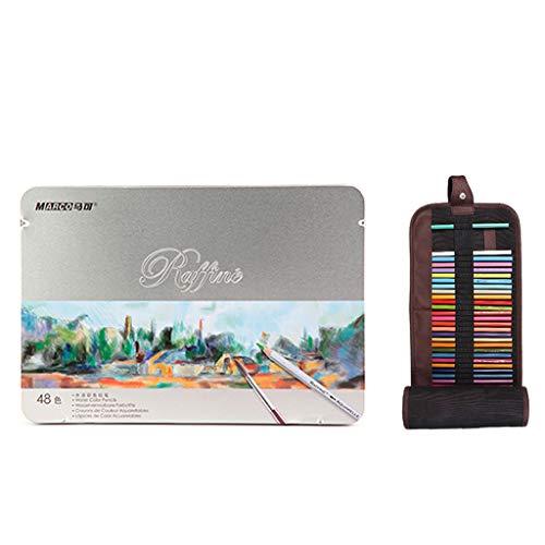 Farbe Wasserlöslicher Bleistift - 48 Farbe 72 Farbe 120 Farbe Professionelle Künstler Anfänger Malerei Student Hand Drawn Buntstift Set - Malerei und Zeichnung Set - Skizze, Färbung und Färbung, leben