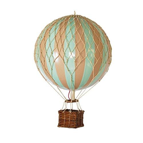 Authentic Models - Ballon - Heißluftballon - Floating The Skies - Mint - Ø 8,5 cm