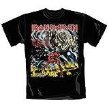 Iron Maiden: Number Of The Beast Black (T-Shirt Unisex Tg. M) [Italia]