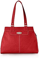 Fostelo Women's Handbag (Red) (FSB-310)