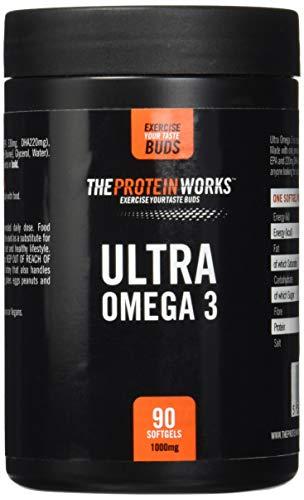 Ultra Omega 3 / von THE PROTEIN WORKS / 90 Kapseln/Wird ausschließlich aus Premium-Fischölen hergestellt. -