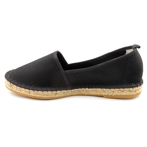 Andre Assous Tina Toile Espadrille Black