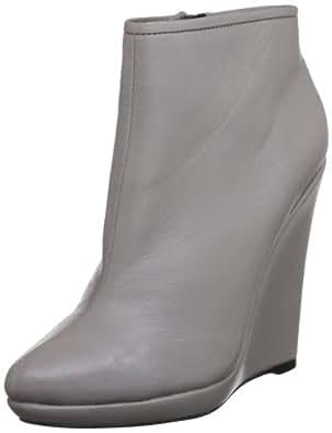 Bourne Women's Agatha Smoke Wedges Boots L00524 3 UK