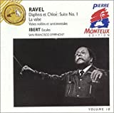 Ravel : Daphnis et Chloé, suite no. 1 / La Valse, Valse nobles et sentimentales / Ibert : Escales [Import allemand]
