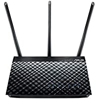 Asus DSL-AC51 Modem Router Wi-Fi Gigabit Dual-Band AC750, Dual WAN, ADSL/VDSL/Fibra, Supporto VPN Server e Client