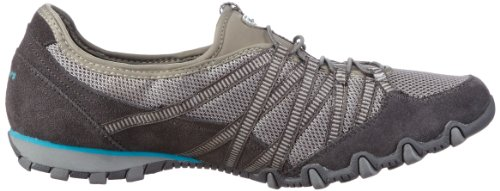 Skechers  Bikers Hot-Ticket, basket femme Gris - Grau (CCGY)
