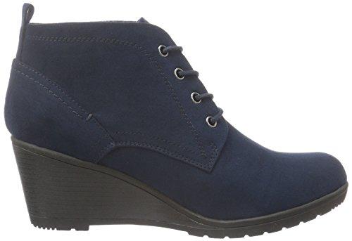 Marco Tozzi Damen 25111 Kurzschaft Stiefel Blau (Navy 805)