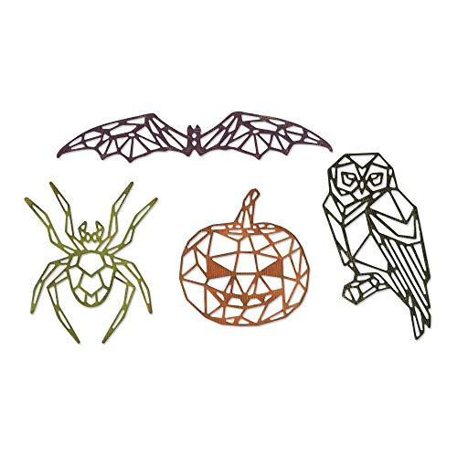 Sizzix Thinlits Stanzformen Set 4Pk Halloween
