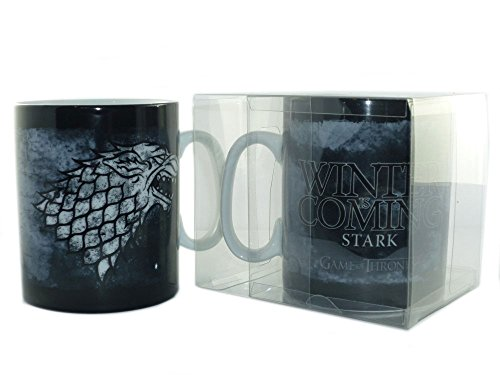 Game of Thrones – Tasse Riesentasse 460ml – Stark – Winter is Coming – toll und stabil verpackt in einer Blisterbox!
