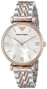 Emporio Armani Reloj Análogo clásico para Mujer de Cuarzo con Correa en Ninguno AR1683 de EMQCL