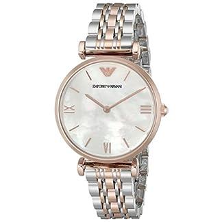 Emporio Armani Reloj Análogo clásico para Mujer de Cuarzo con Correa en Ninguno AR1683
