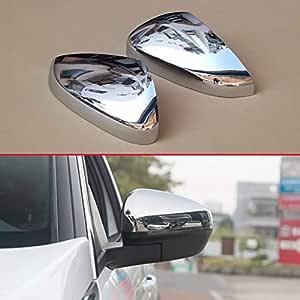 Außenspiegel Chrom Auto Styling Glänzende Paare Abdeckung Zubehör Für Peugeot 3008 5008 2017 2018 Rückfahr Overlay Baumarkt