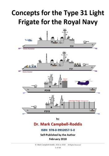 Concepts for the Type 31 Light Frigate for the Royal Navy -