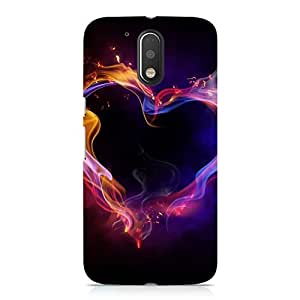 Hamee Designer Printed Hard Back Case Cover for Motorola Moto Z Play Design 4250