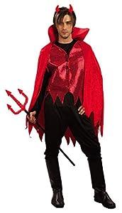 Ciao- Costume Adulto Diavolo TG. XL Disfraces, Color rojo, 16060
