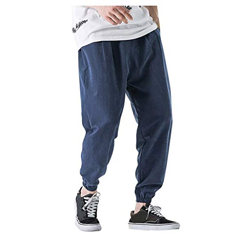 Jogginghose Herren Jogginganzug Jogger Männer Trainingsanzug Baumwolle Jungen Slim Fit Jog Pants Größen -