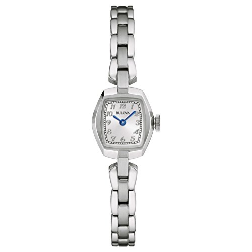 Bulova Damen-Armbanduhr Analog Quarz Edelstahl 96L221
