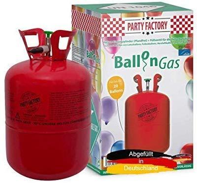 Helium Ballon-Gas Einweg für ca. 20 Ballons