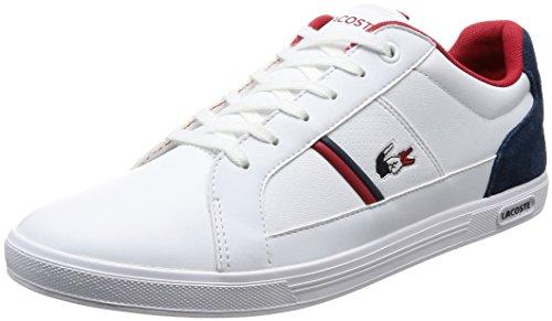 Lacoste Herren Schuhe / Sneaker Europa 317 SPM LT weiß 44