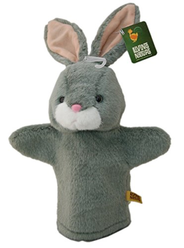 Living Nature Peluche Lapin ~main ferme (Farm Animal Finger Puppets)
