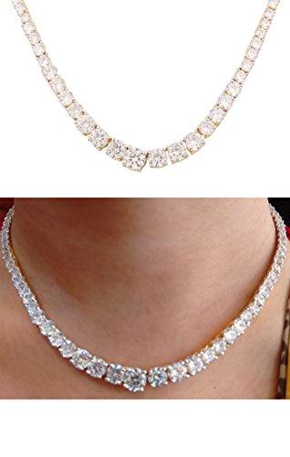 Swasti Jewels American Diamond Austria CZ Solitaire Fashion Jewellery Set Necklace Earrings for Women
