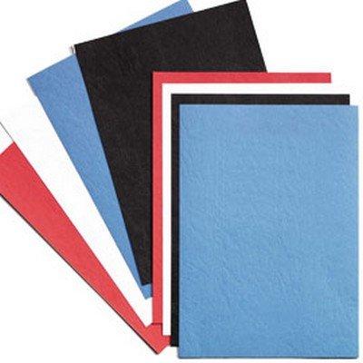 LeatherGrain Umschlagmaterial, A4, 100 Stück, königsblau