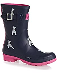 Joules Mujer Chip Dog Botas de Goma