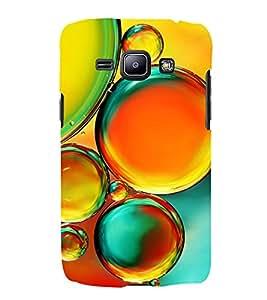 Colourful Bubbles 3D Hard Polycarbonate Designer Back Case Cover for Samsung Galaxy J2 (2016)