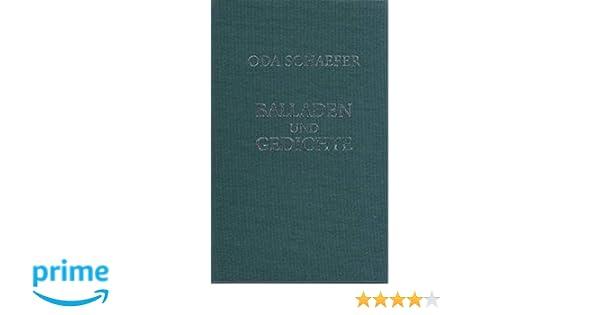 Balladen Und Gedichte Eine Auswahl Aus Dem Gesamtwerk