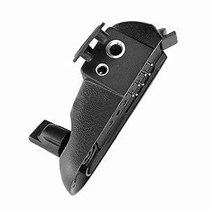 Pandiki Walkie Talkie Audio Adapter Ersatz für Baofeng BF-9700 BF-A58-Wege-Radio Audio-BF-UV9R M Schnittstelle 2 Pin Headset-Anschluss